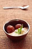 Gulab jamun (Indian milk balls)