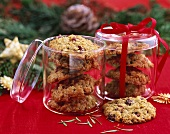Cranberry kamut cookies