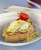 Egg Benedict (Poached egg on toast, USA)