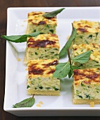 Courgette appetisers