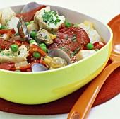 Fish stew with shellfish and chorizo (Catalonia)