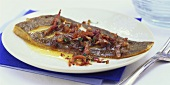 Finkenwerder plaice (with bacon)
