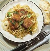 Fegato alla veneziana (Calf's liver with onions, Italy)