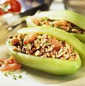 Stuffed cucumbers