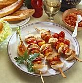 Shashlik (kebabs)