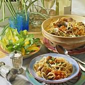 Spaghetti alle vongole veraci (Spaghetti with clams)