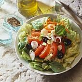 Insalata mista (Mixed salad, Italy)