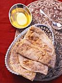 Puran Poli (Sweet flatbread, India)