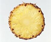 Eine Ananasscheibe