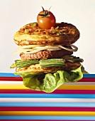 Blini burger