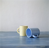 Two empty mugs