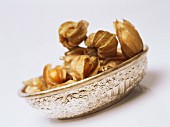 Cape gooseberries in a dish