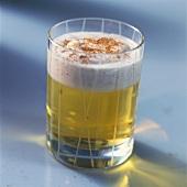 Cinnamon beach (Cointreau drink with cinnamon cream topping)