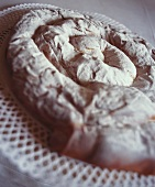 Ensaimada (Coiled yeast cake with icing sugar, Majorca)