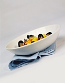 Saffron risotto with mussels