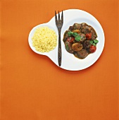 Middle Eastern lamb ragout with apricots and couscous