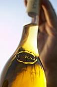 A bottle of Tokaji, Hungary