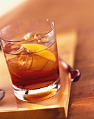 Negroni: cocktail made with gin, Campari and Vermouth