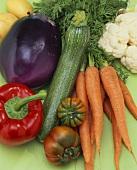 Mixed vegetable still life