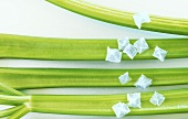 Celery with Maldon sea salt