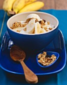 Quark with bananas and cluster muesli