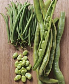 Various kinds of beans