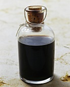 A small bottle of Aceto Balsamico Traditionale