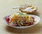Insalata di finocchio ed arancia (Fennel and orange salad)