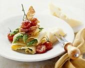 Lasagnette agli asparagi (Lasagnette with green asparagus)