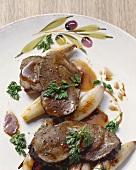 Brasato scalognato (Roast beef with cinnamon and shallots)