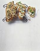 Crostini al tonno ed ai fagioli (Assorted crostini, Italy)