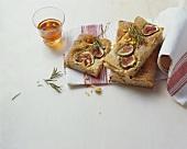 Schiacciata ai fichi (Flatbread with figs, Tuscany)