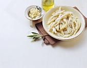 Filei alla ricotta casalinga (Rolled pasta, Italy)