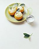 Sorbetto di mandarino (Mandarin orange sorbet, Italy)