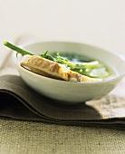 Wild fennel soup