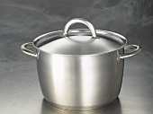 A pan with lid