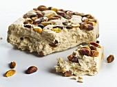 Halva (Sweet made from sesame oil & pistachios, Middle East)