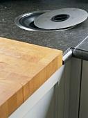 Arbeitsfläche einer Küche
