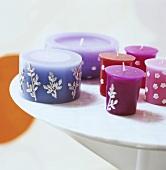 Various candles