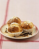 Brioches with pearl sugar