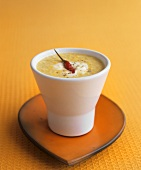 Corn soup with chilli (California, USA)