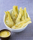 Fennel with orange butter