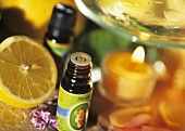 Lemon oil for aroma lamp