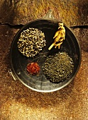 Spices for Ayurvedic cuisine