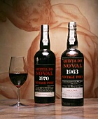 Bottles of Quinta do Noval, 1963 Naçional and 1970 port