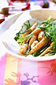 Karotten in Buttersauce