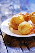 Caramelised potatoes