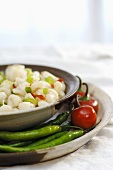 Mote (or hominy - cooked corn with chilli, Latin America)