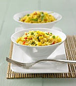 Thai-style curried rice and vegetables