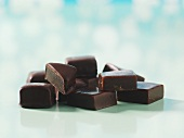 Chocolate-coated liquorice toffees
